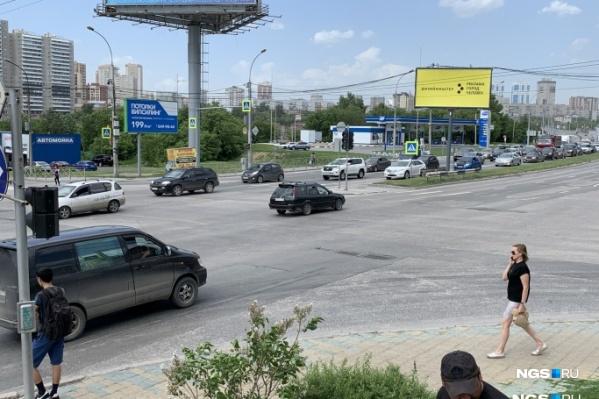 Дорога между Ипподромской и Военной улицами
