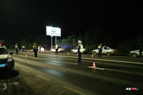 В Курганской области полицейские периодически устраивают погони за пьяными водителями