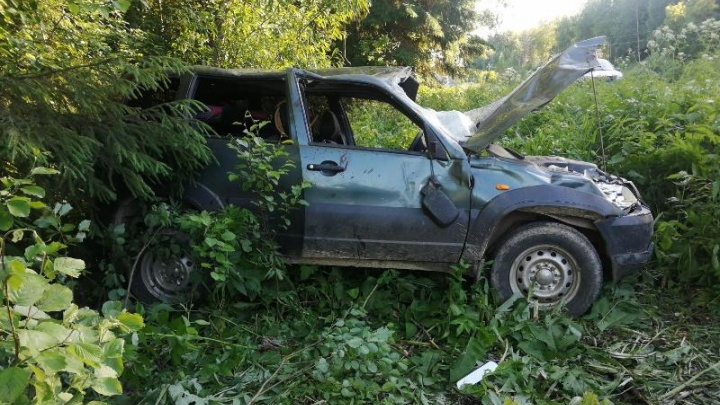 В Прикамье три человека пострадали в ДТП на трассе