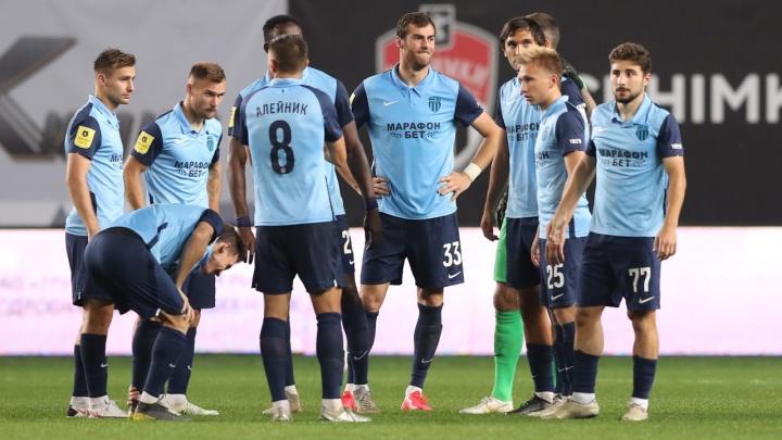 «Ротору» присудили техническое поражение в матче с «Ростовом»