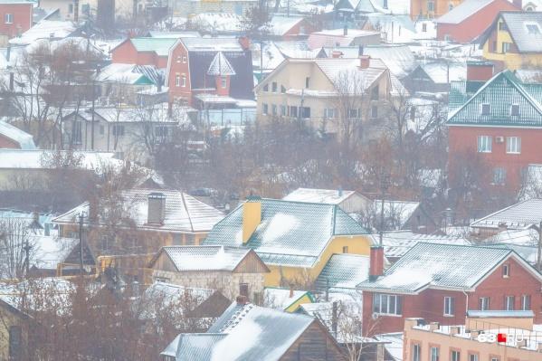 9-я просека в Самаре застроена коттеджами с придомовыми участками