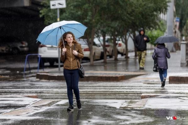 Понедельник 19 октября будет дождливым