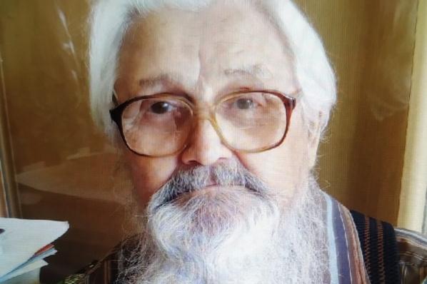 В Екатеринбурге ищут дедушку с белоснежной бородой и тросточкой