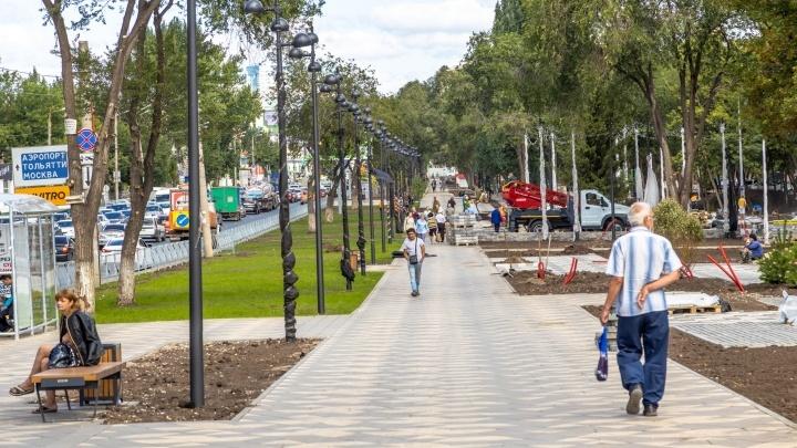 Заметные перемены: как приводят в порядок дворы и скверы в Самарской области