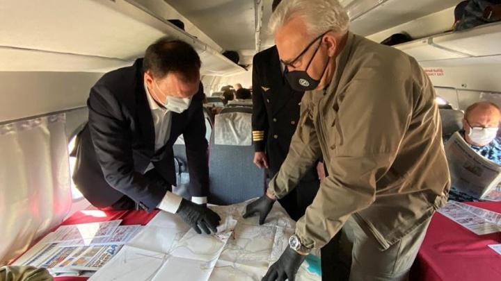 Губернатор вылетел в Северо-Енисейский район, где произошла вспышка коронавируса у вахтовиков