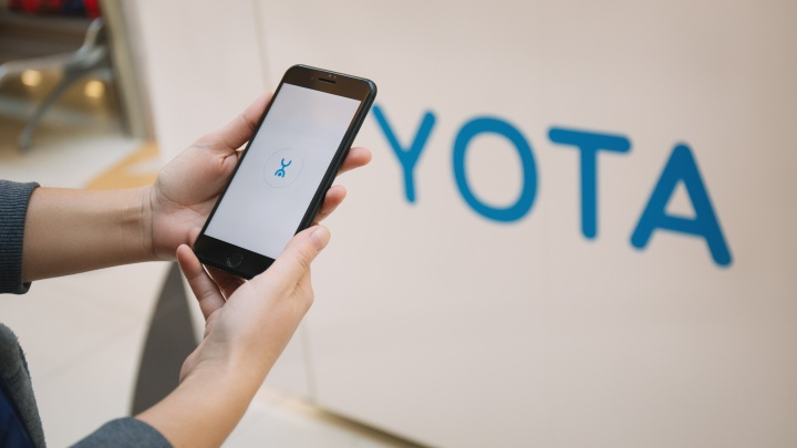 SIM-карты Yota для смартфона стали продавать в салонах связи «МегаФон»