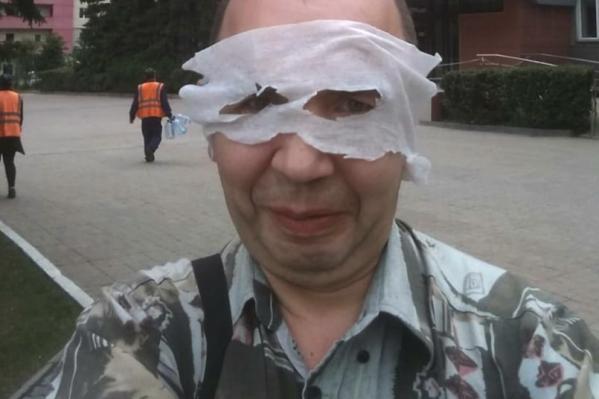 Сибиряк утверждает, что всегда приходил в метро в таком виде, но впервые его задержали лишь 1 июня