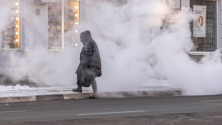 Аномальные холода: в Самарской области объявили штормовое предупреждение