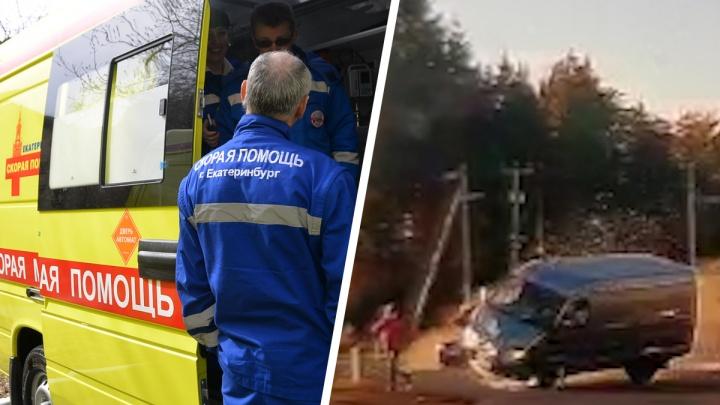 Пыталась убежать от смерти: появилось видео ДТП на трассе Екатеринбург — Курган, где «газель» сбила женщину