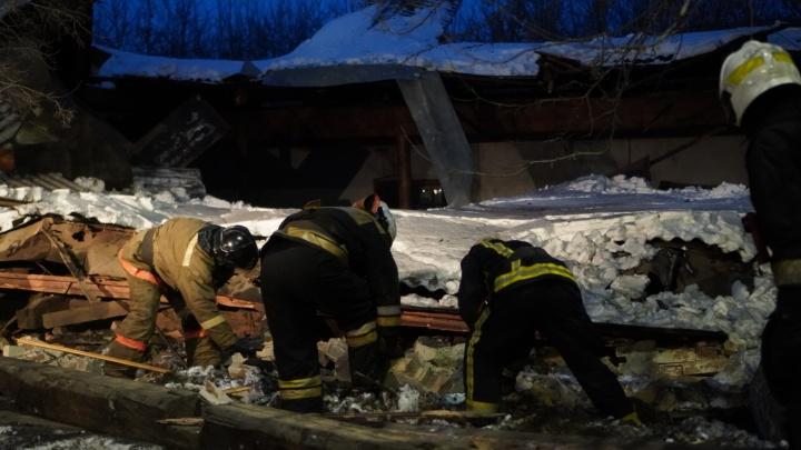 Прокуратура начала проверку после обрушения здания на проспекте Маркса