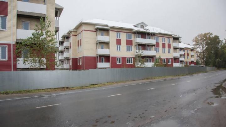Недостроенные дома на Доковской в Архангельске никто не захотел покупать на аукционе