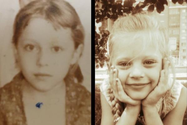 Арина (справа) и ее бабушка Елена (слева)