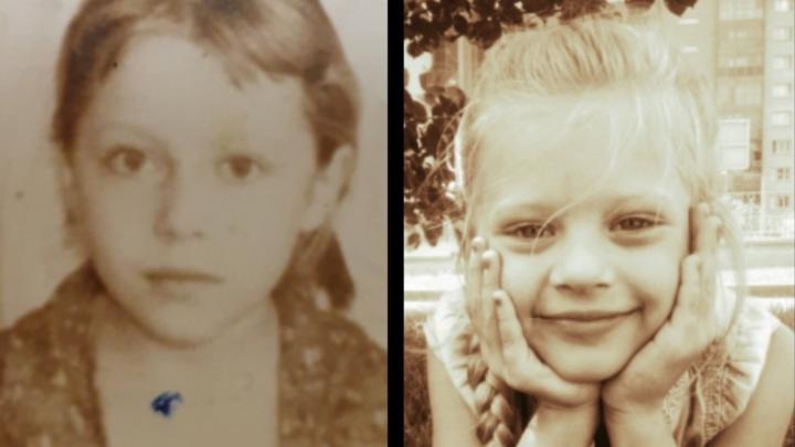 Один в один: в детском саду Красноярска сравнили фото детей и их родителей