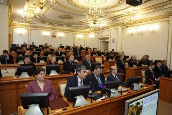 В составе зауральского парламента произошли перестановки