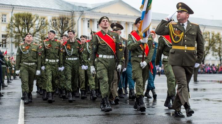 Перекроют центр, будут раздавать маски: как в Ярославле пройдёт шествие в честь Дня Победы