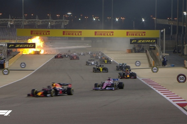 Авария пилота «Хааса» Романа Грожана — одна из самых страшных в «Формуле-1» за последние годы