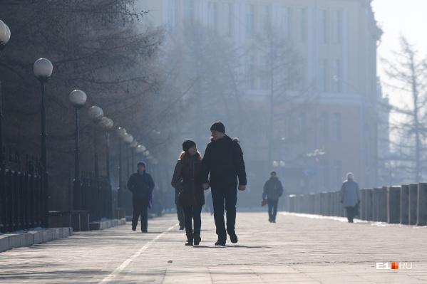 В воздухе над городом сконцентрировались компоненты выхлопных газов. Ими приходится дышать