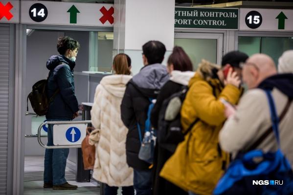 В Толмачево будут проверять каждого прилетевшего в город, в том числе и с помощью тепловизора