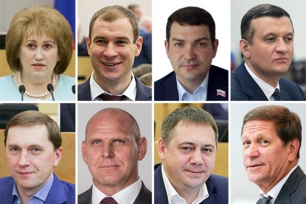 За прошлый год депутаты, представляющие наш регион в Госдуме, заработали от 5,6 до 14 миллионов рублей