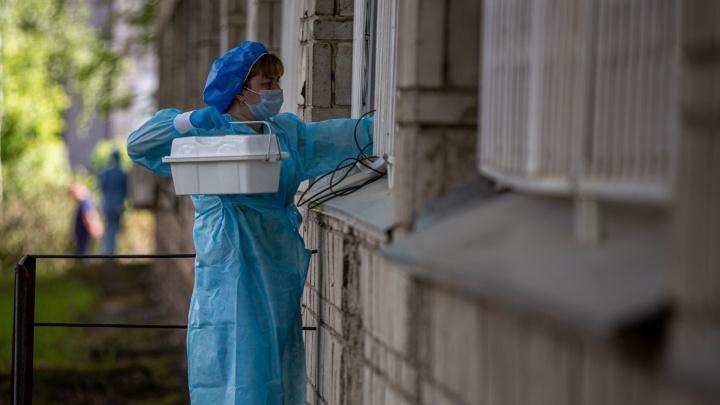Больше 10 тысяч: коронавирус в Новосибирской области нашли ещё у92человек