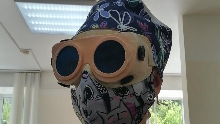 Красноярцы показали свои стильные защитные маски. Фотоподборка