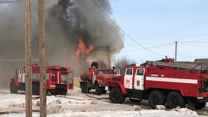 В Башкирии сгорел Дом культуры