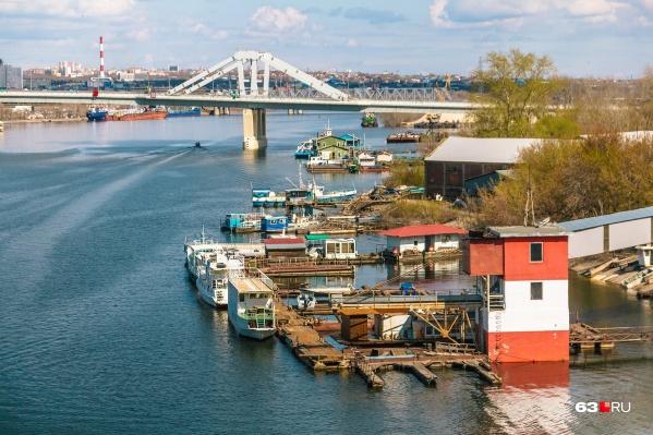 Фрунзенский мост строили 4 года