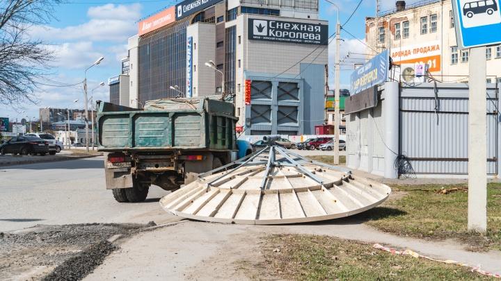 Ущерб от урагана в Омской области оценили в 165 миллионов рублей