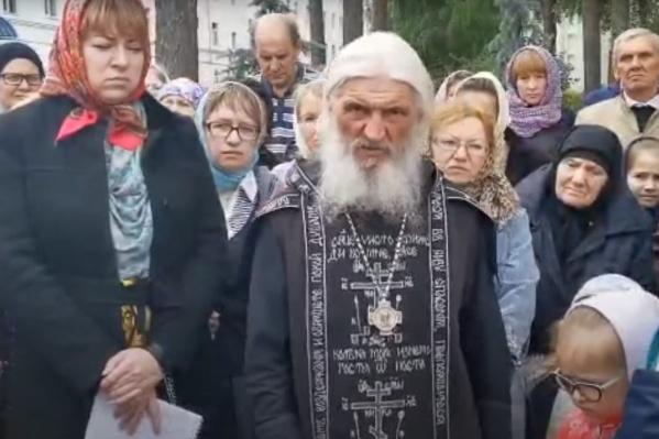 Cхиигумен Сергий заявил, что хочет, чтобы в России был православный царь