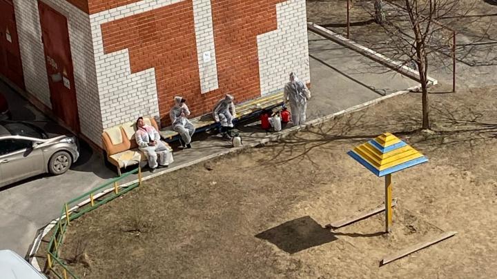 Побрызгали только первый этаж или вообще не дошли: тюменцы повально жалуются на обработку подъездов