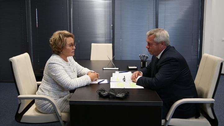 Матвиенко предложила распространить на Россию донской «стандарт благополучия человека»