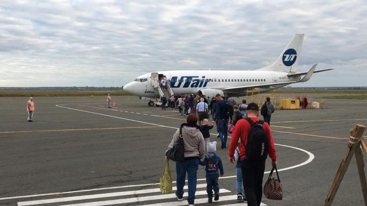 В Кургане вводят дополнительные авиарейсы в Москву