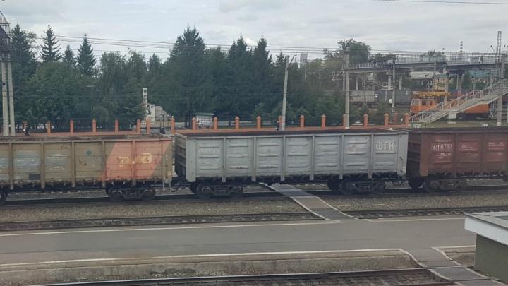 В Зауралье в вагоне с углём задержали автостопщика, который ехал из Челябинска до Иркутска