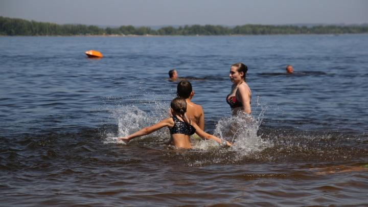 Купаться можно не везде: в Самаре проверили качество воды и песка на пляжах