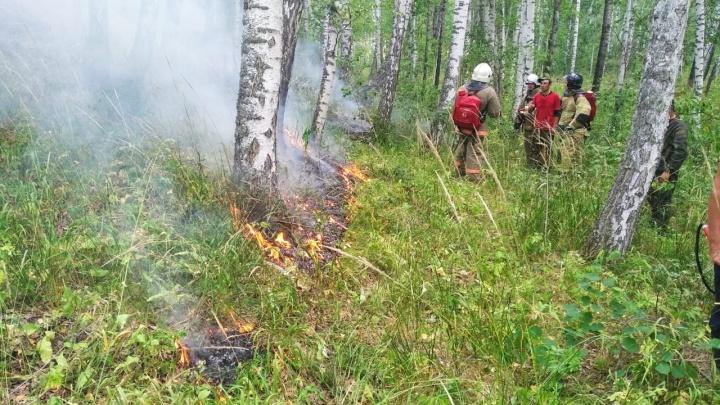 Волонтеры и спасатели локализовали пожар в Бурзянском районе