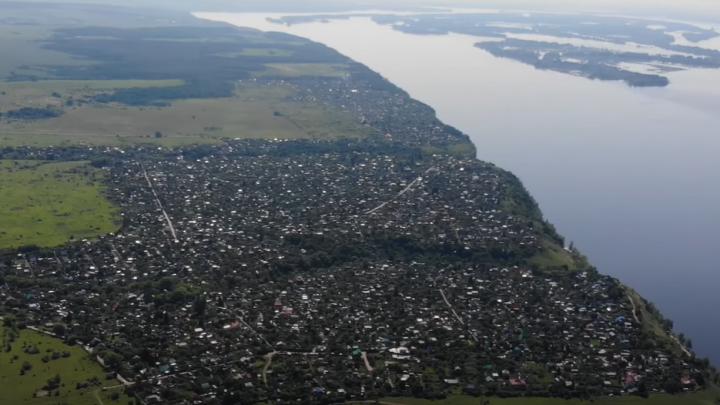 «От красоты захватывает дух»: самарский блогер снял на видео село Переволоки с высоты