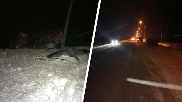 В аварии на новосибирской трассе погибли двое молодых мужчин