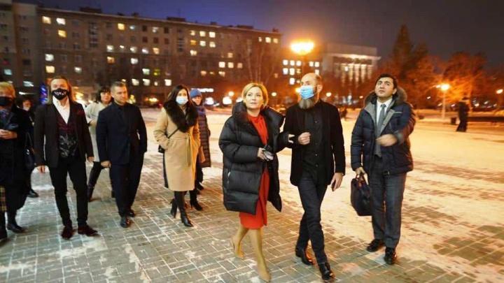 В НОВАТ нагрянула министр культуры Ольга Любимова — показываем, как это было