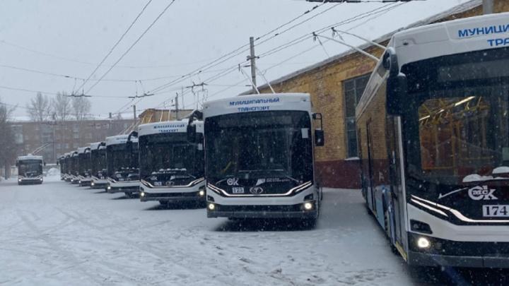 Новые троллейбусы «Адмирал» на маршруте №4 перевезли уже почти 300 тысяч омичей