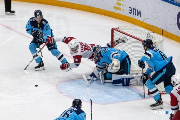 Игра проходила в Новосибирске