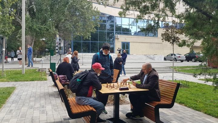 Пешеходный переход через Большую Садовую появился у парка Горького
