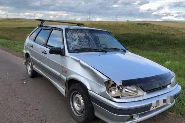 В Башкирии пьяный водитель наехал на шестиклассника