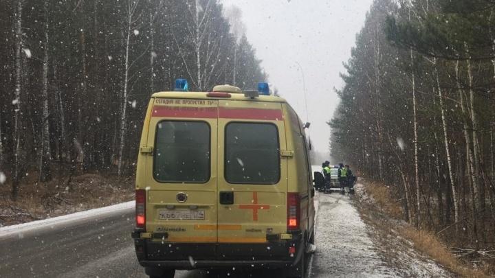 В Челябинской области пьяный полицейский за рулем покалечил пассажирку встречной машины