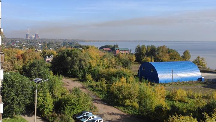 Жители Челябинска пожаловались на смог, окутавший город