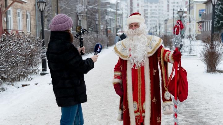 Пел песню и стрелял из пушки: что еще делал Дед Мороз, когда гулял по Чумбаровке