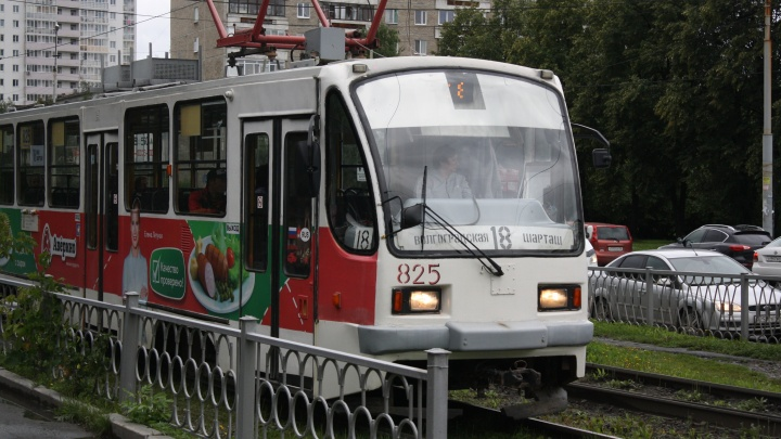 Из-за ремонта труб на улице Волгоградской закроют движение трамваев