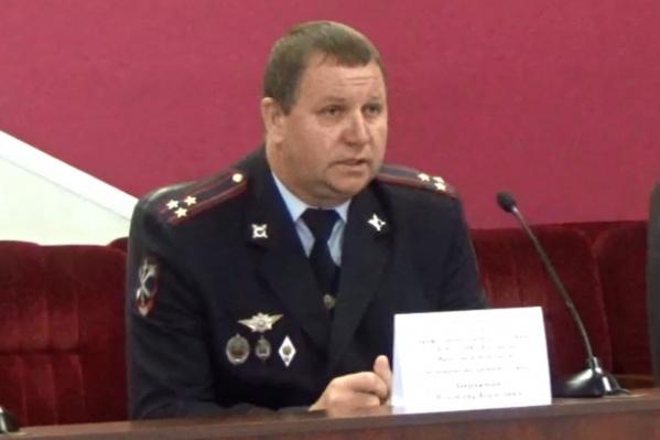 Владимир Завражный в полиции дослужился до звания полковника