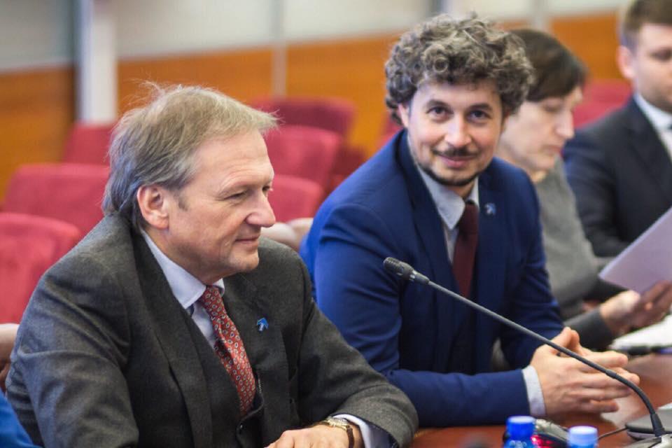 С Борисом Титовым —уполномоченным при президенте РФ по защите прав предпринимателей