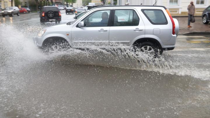 В МЧС предупредили свердловчан о сильных ливнях