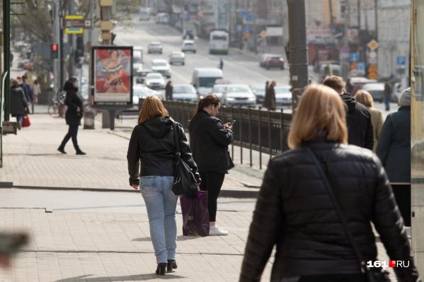 В Ростовской области процент безработных на 1 меньше, чем средний по стране